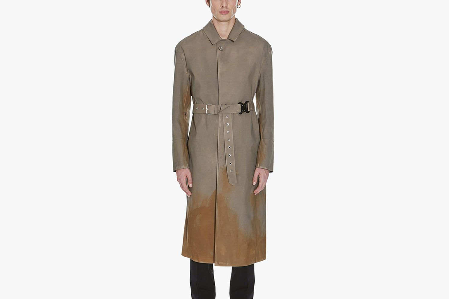 Treated Belted Coat