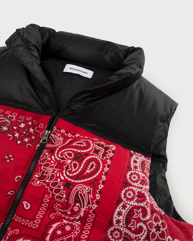 Miyagihidetaka — Bandana Vest Red - Image 2