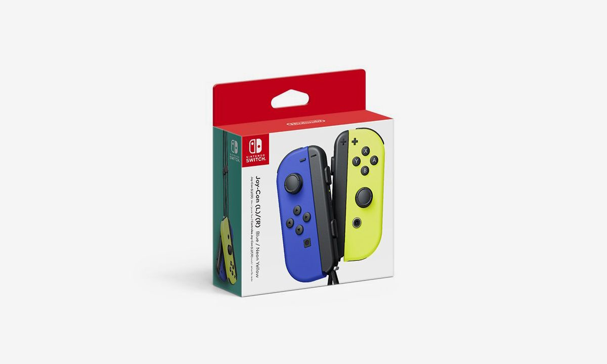 "Nintendo Finally Hops on the ""Frozen Yellow"" Wave With New Joy-Con Colors"