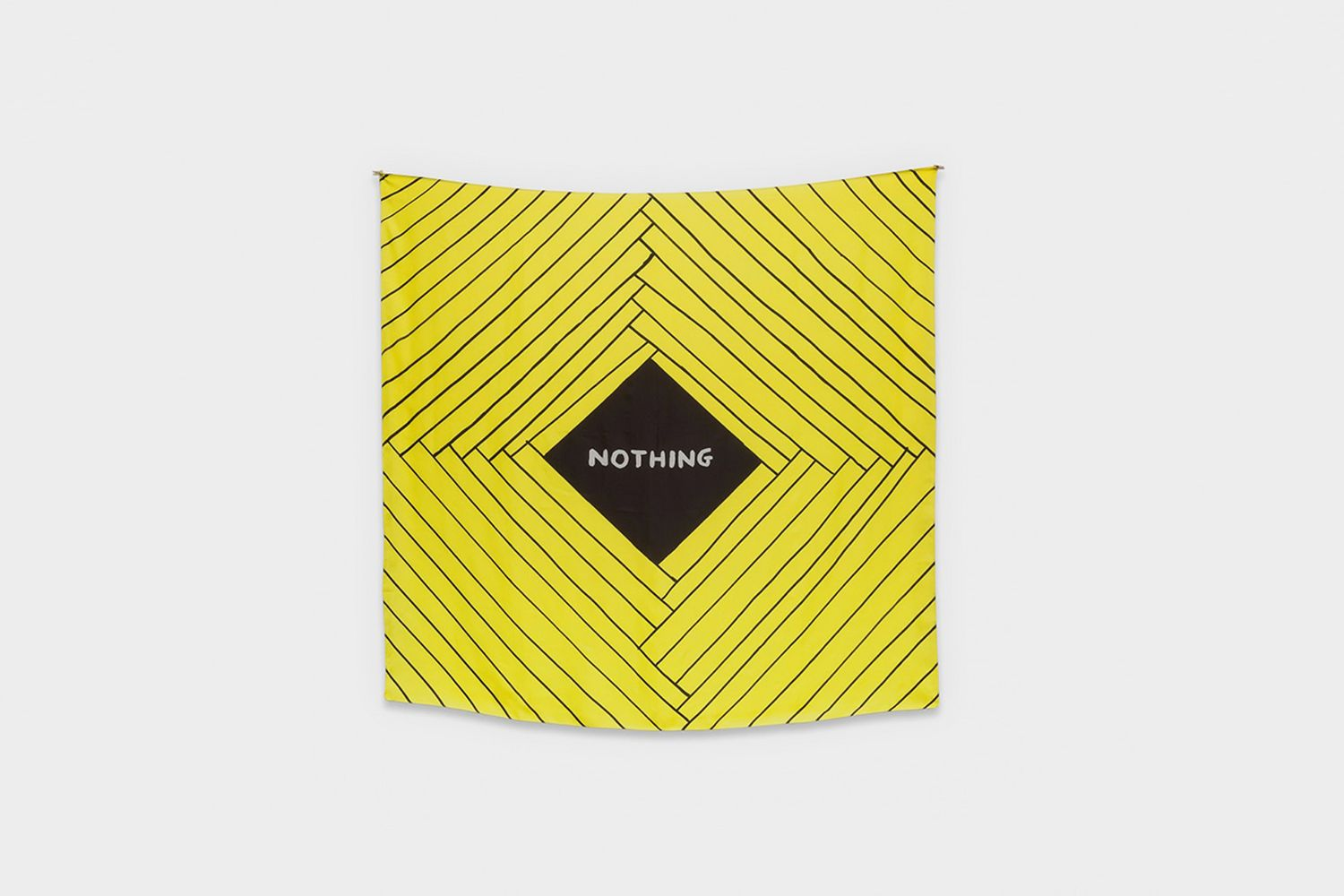 David Shrigley Silk Scarf