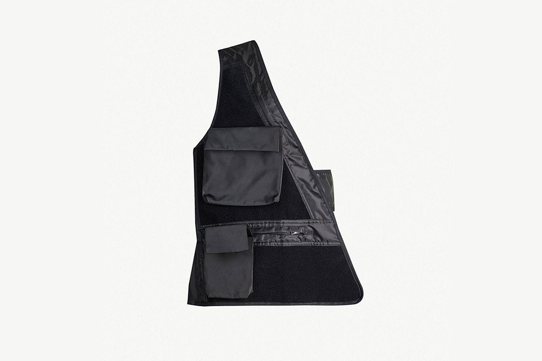 One Shoulder Shell Vest