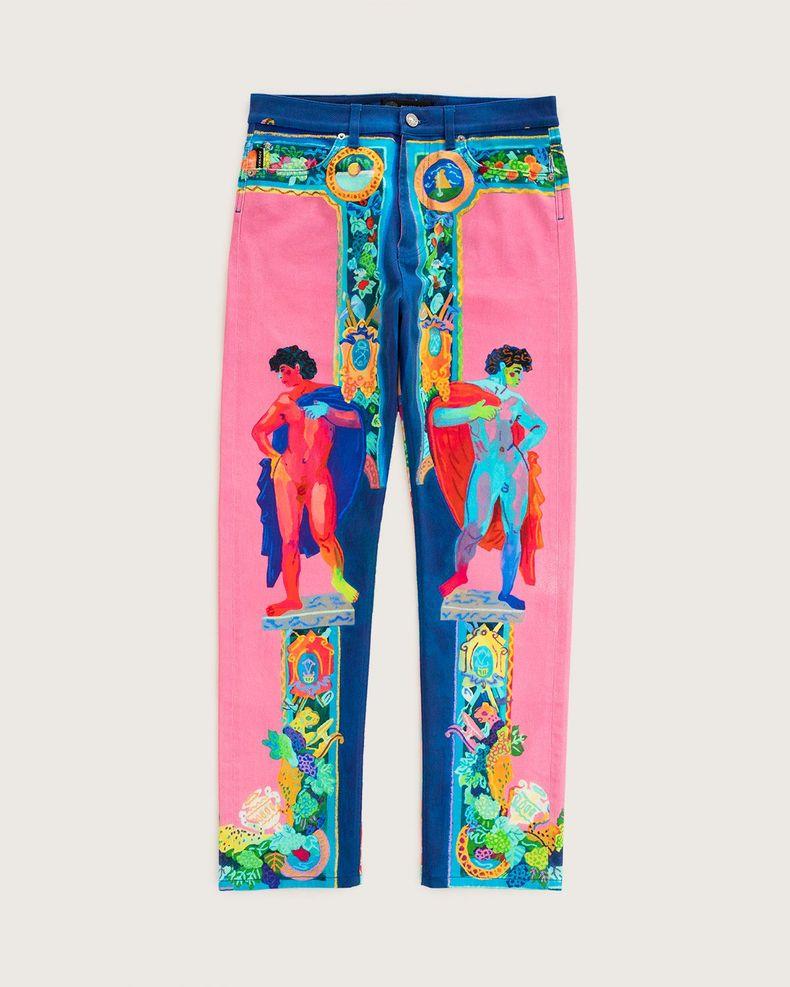 Versace —  Denim Jeans Multicolour