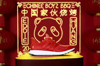 """f777d937a Eddie Huang x adidas Ultra Boost """"Chinese New Year""""  Release Info"""
