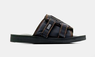 Palm Angels & Suicoke Drop Collaborative Patch Slider Sandals