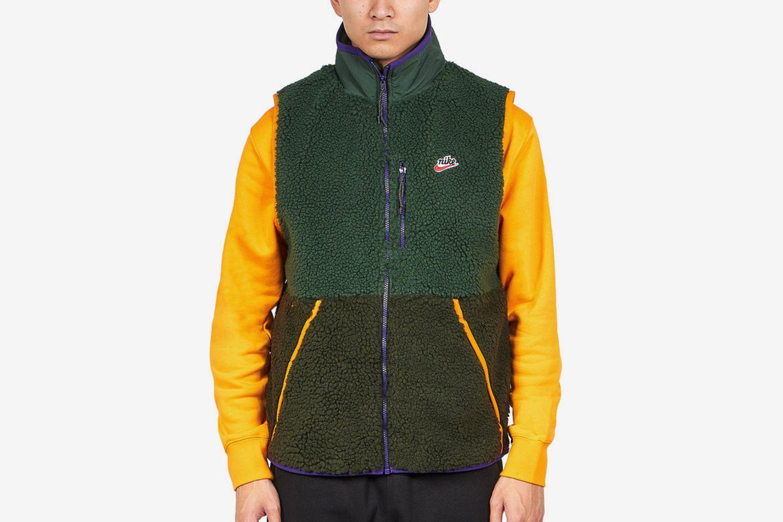 Winter Sherpa Vest
