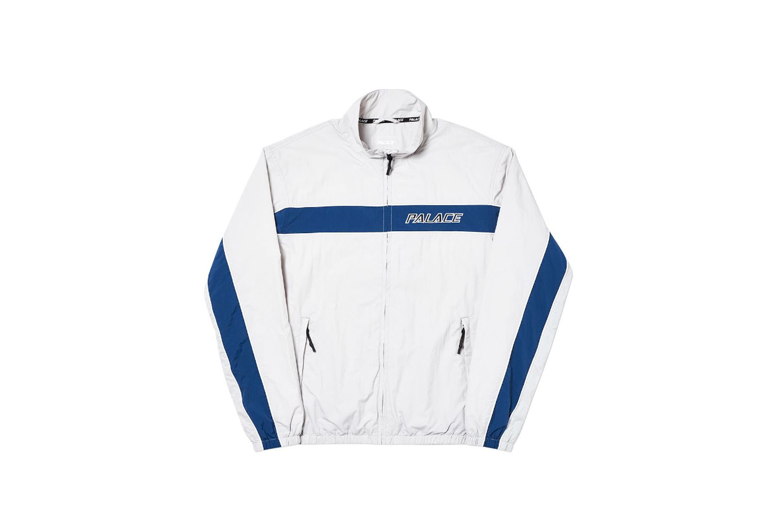 Palace 2019 Autumn Shell Racer Grey Front