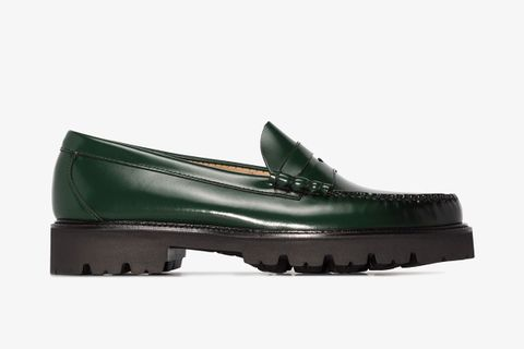 Exclusive Weejuns Super Lug Penny Loafers