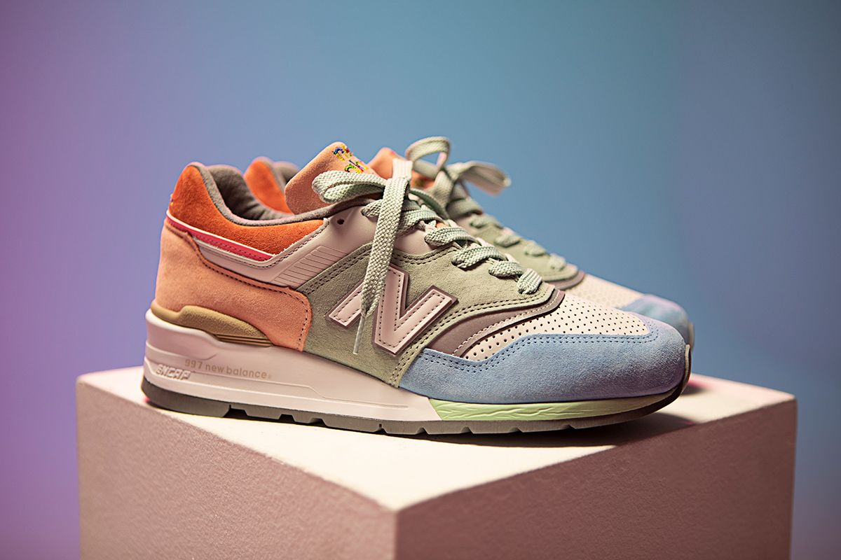Todd Snyder & New Balance Celebrate Pride Month With Colorful 997