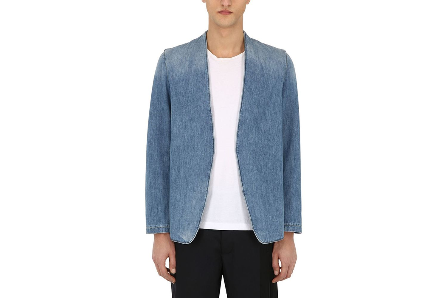 Denim Cardigan Jacket