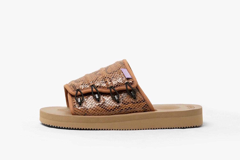 Python Embossed Sandal