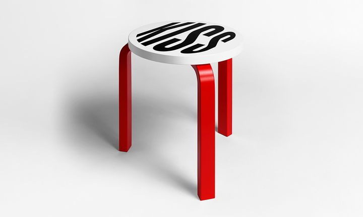 barbara kruger alvar aalto stool 60 frieze