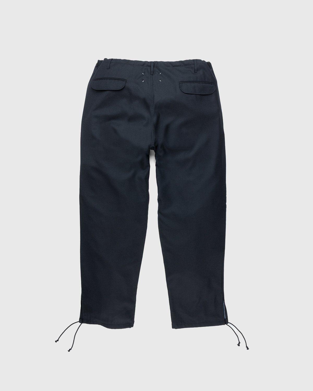 Maison Margiela – Drawstring Leg Trousers Black - Image 2