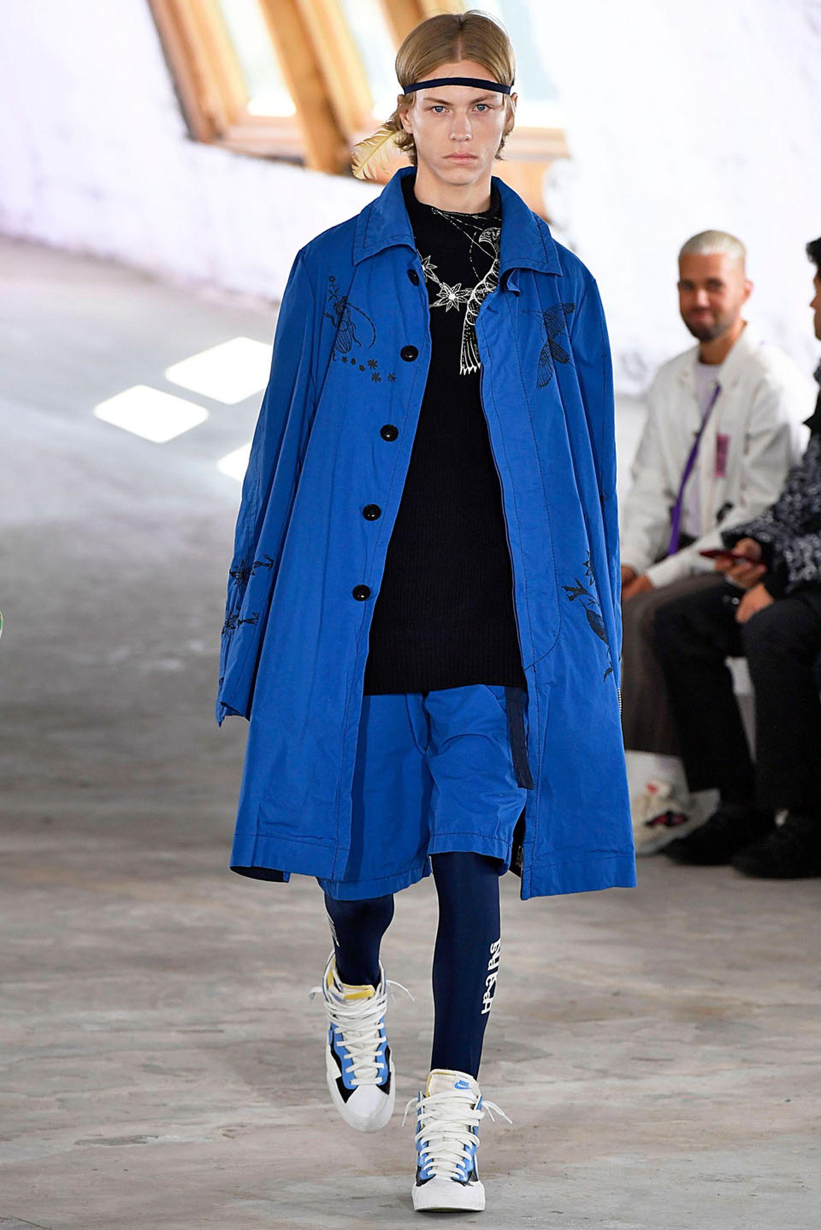 Sacai Paris Menswear Spring Summer 2019 Paris June 2018 PFW18 Spring/Summer 2019 chitose abe