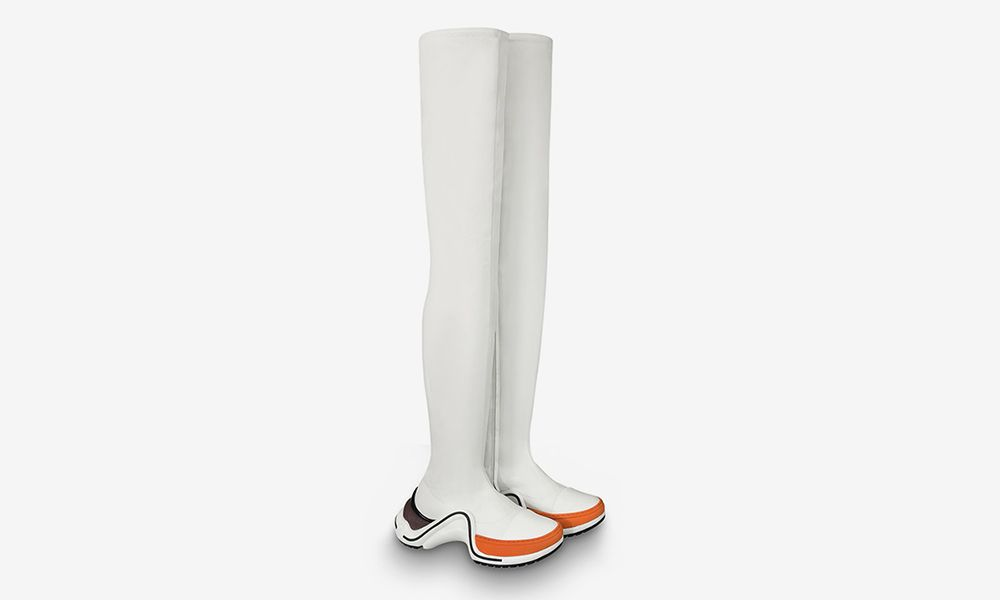 00830add122 Louis Vuitton Just Dropped a Thigh-High Archlight Boot