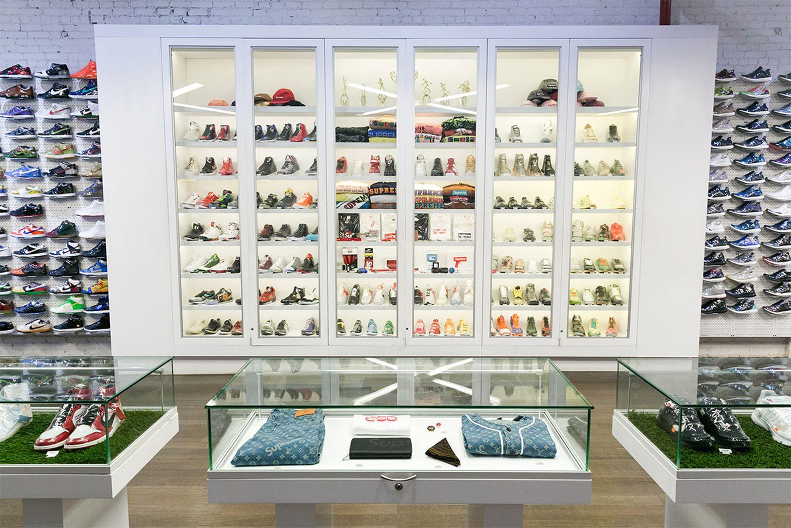 best new york sneaker stores stadium goods AMEX american express platinum