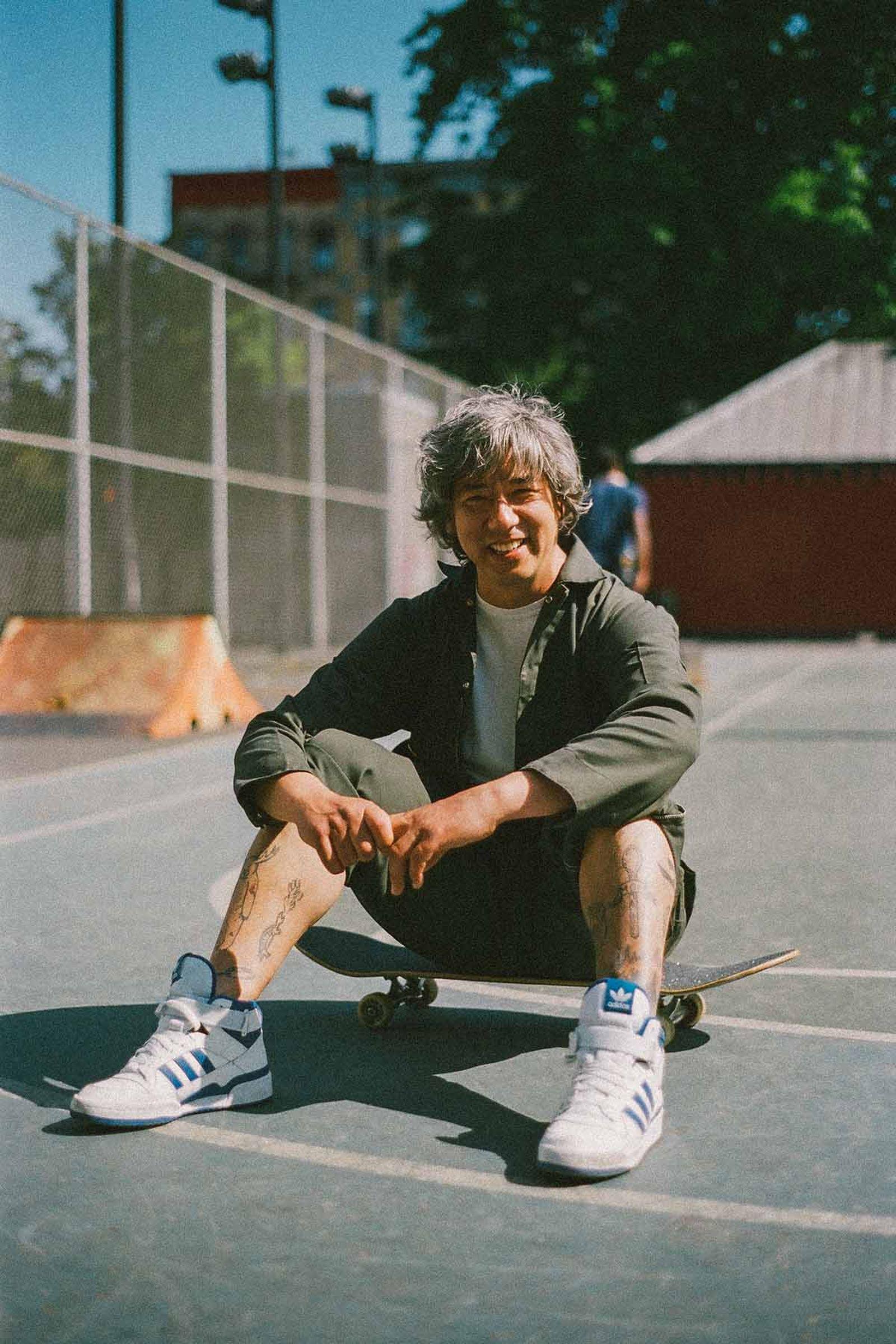 Patrick Smith, owner of CODA Skateboards.