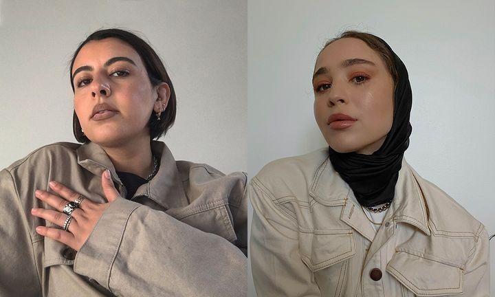 Nadia Azmi and Maria Alia Miilkiina