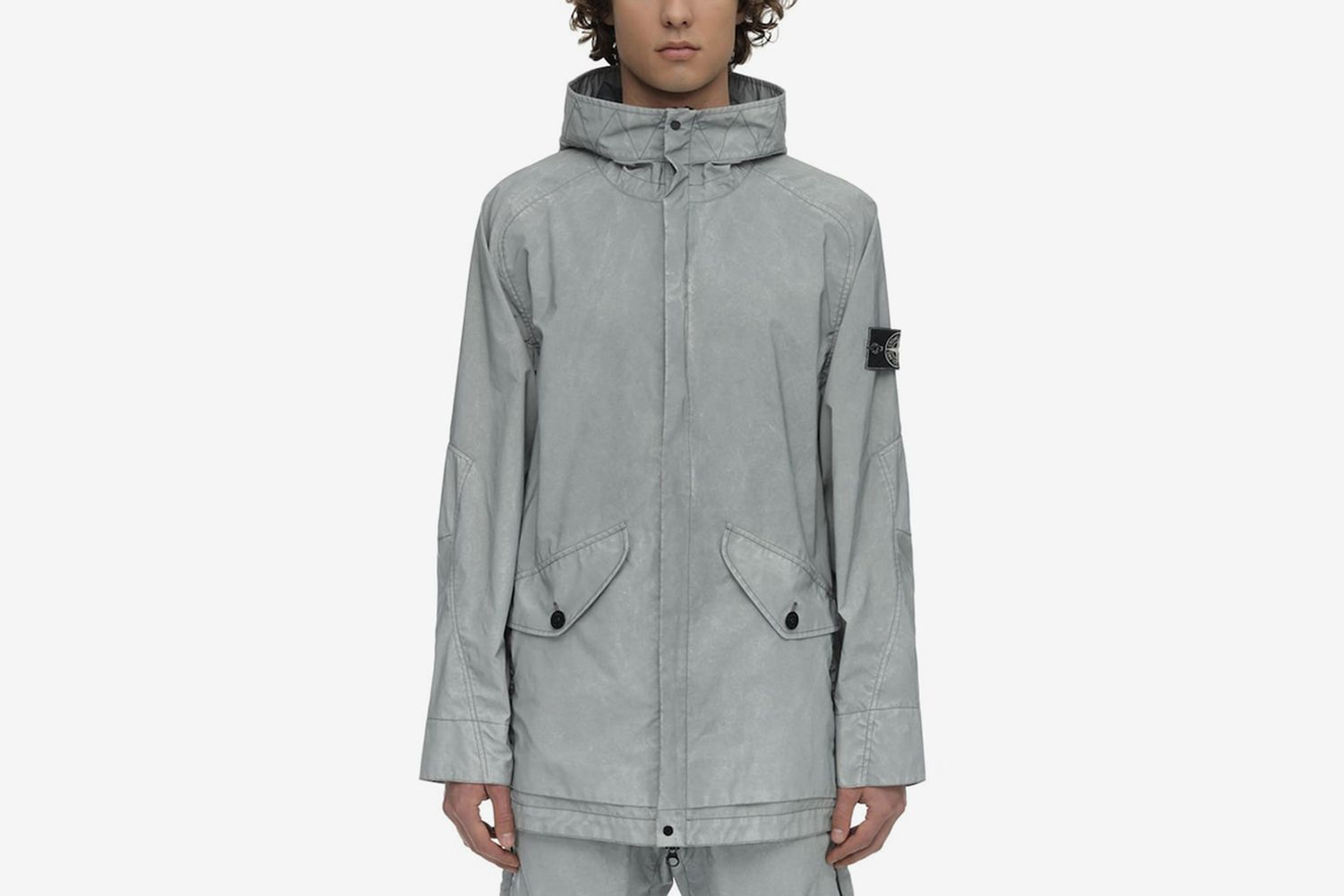 LVR Exclusive Coated Reflective Parka