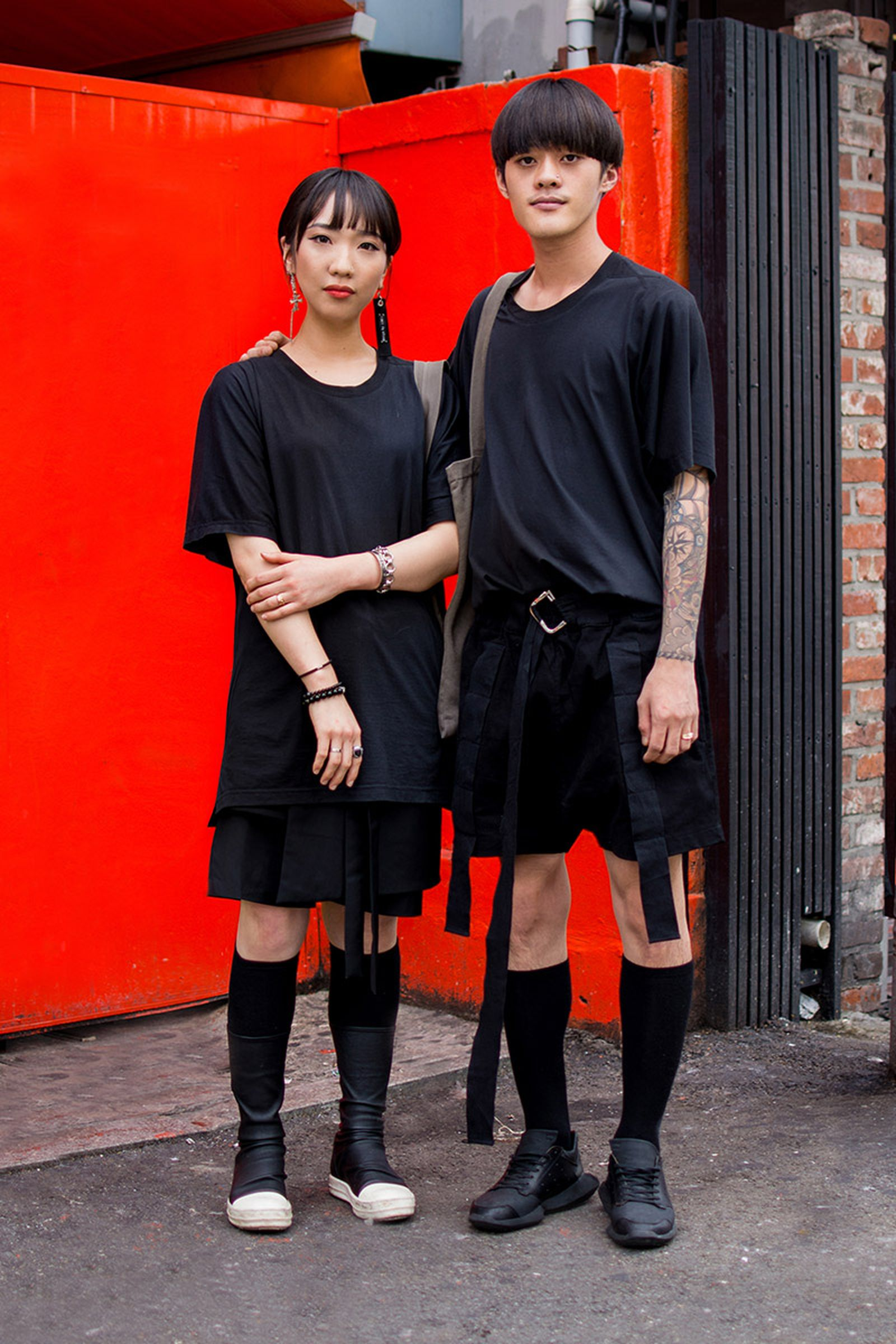 seoul street style july18 Balenciaga Children of the Discordance Gucci