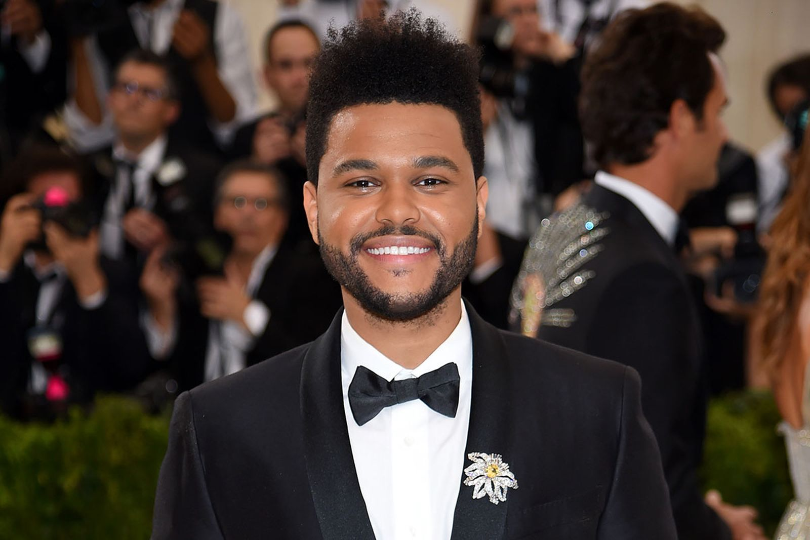 The Weeknd at the Met Ball 2017