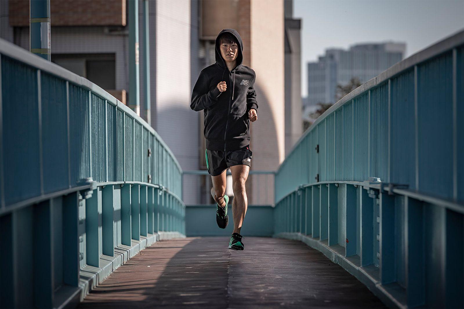 japans next great marathon runner got blessed god shoes08 New Balance running shoes
