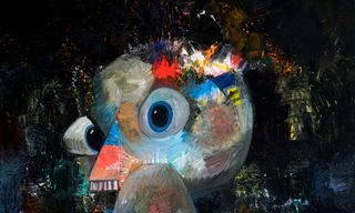 """Take a Look Around George Condo's New """"What's the Point?"""" Exhibition"""