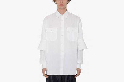 Poplin Shirt W/ Double Cuffs