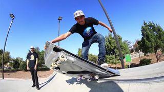 tesla model s door skateboard Braille Skateboarding
