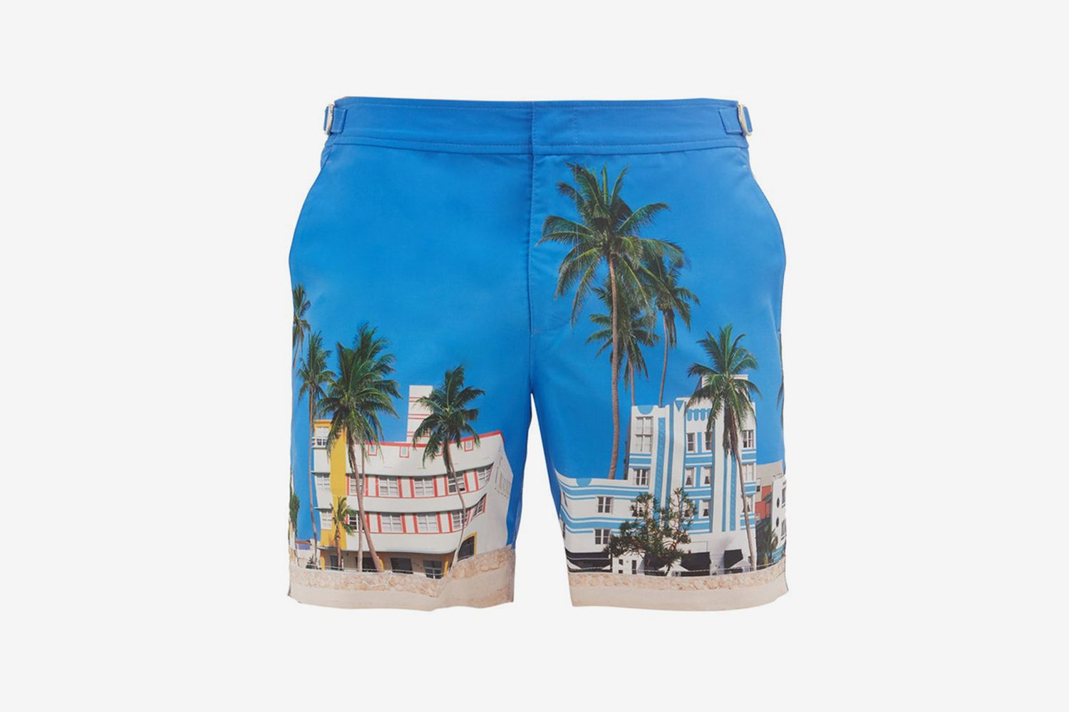 Bulldog Printed Shell Swim Shorts