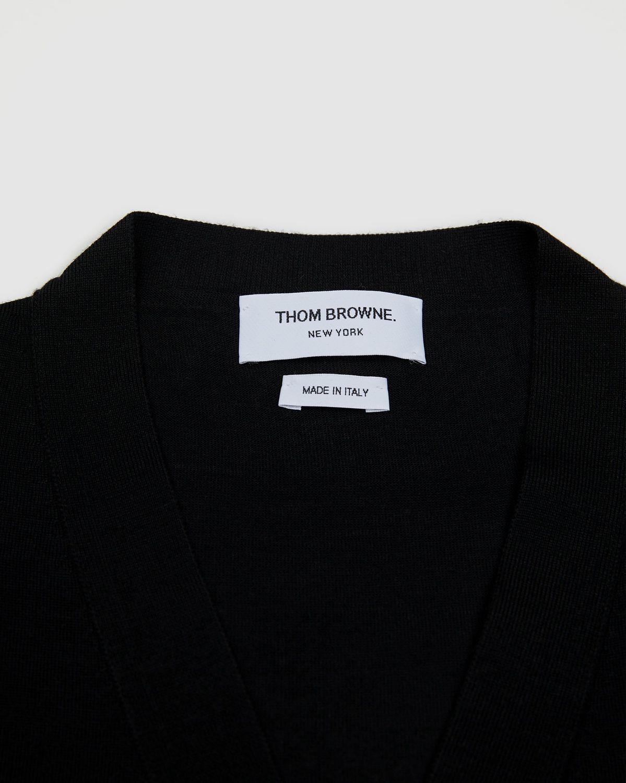 Colette Mon Amour x Thom Browne - Black Peace Cardigan - Image 3