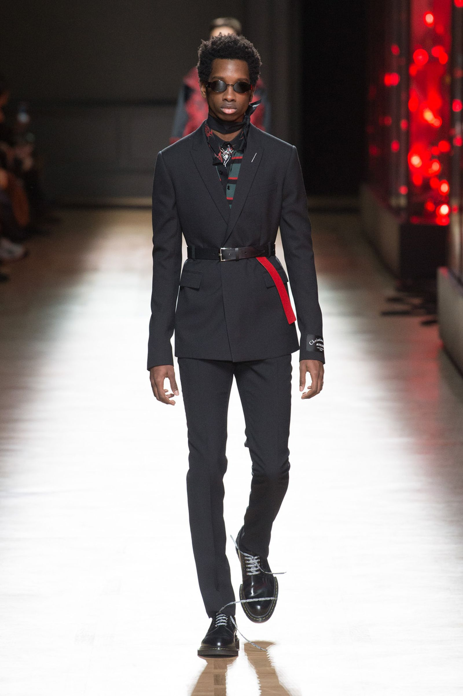 DIOR HOMME WINTER 18 19 BY PATRICE STABLE look23 Fall/WInter 2018 runway