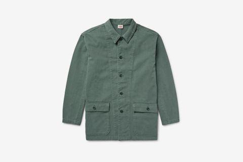 1960's Brushed Cotton-Twill Surplus Jacket