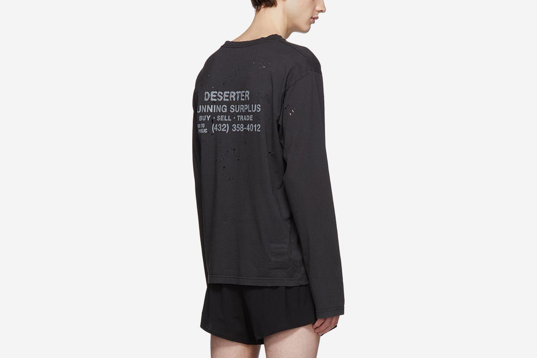 'Deserter' Moth Eaten T-Shirt