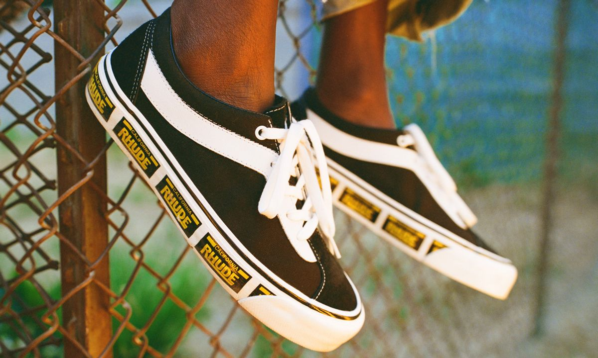 RHUDE & Vans' Retro-Inspired Bold NI Collab Pays Homage to Its California Heritage