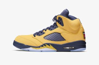 free shipping 181ce 2b1a8 Nike Air Jordan 5 Michigan: Official Release Information