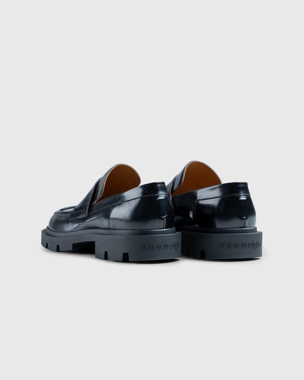 Maison Margiela – Leather Loafers Black - Image 3