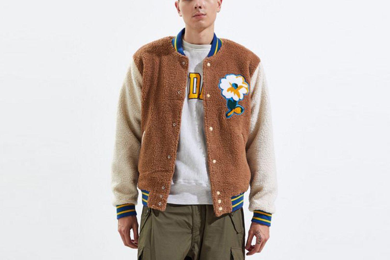 Sherpa Varsity Jacket