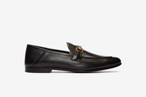 Web Horsebit Loafers