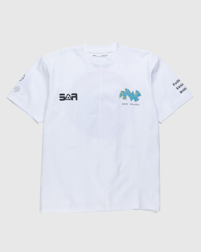 Space Available Studio - Eco System T-Shirt White