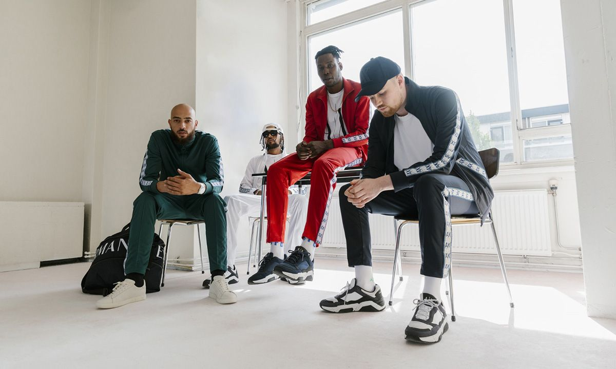 Amsterdam's ALLE$ Lifestyle Brought a Fresh Creative Flow to A|X Armani Exchange