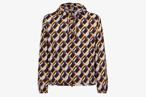 Fendi Mania All Over Geometric Print Hoodie