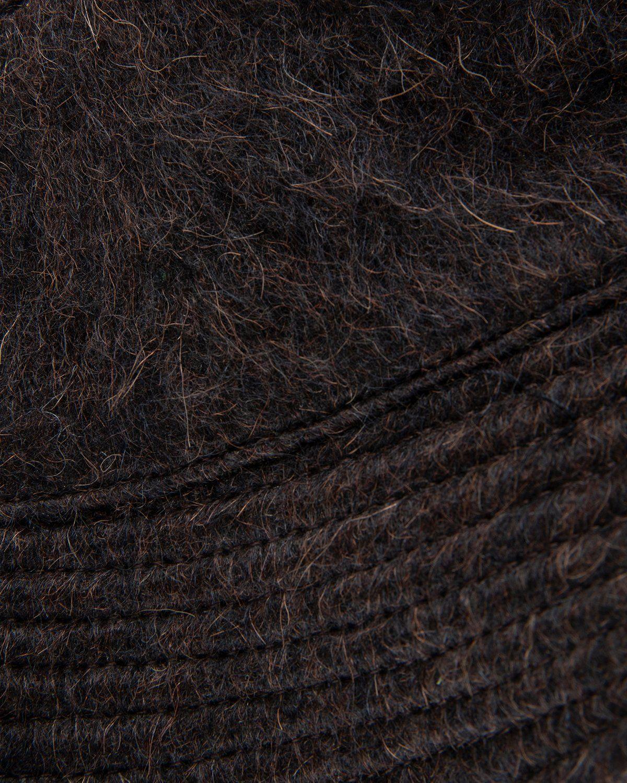 Our Legacy – Bucket Hat Brown Hairy Alpaca - Image 2