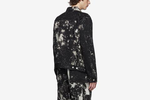 SOTO Denim Bleach Jacket