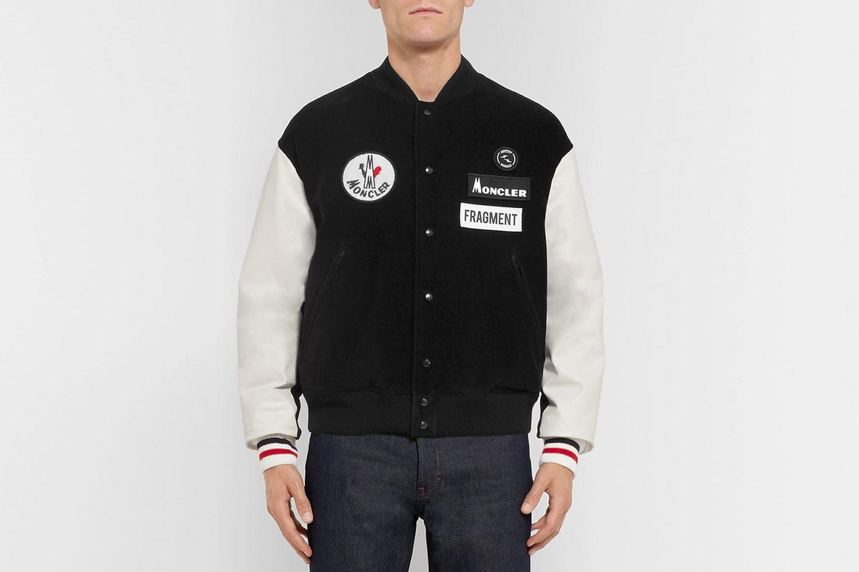 7 Moncler Fragment Sven Appliquéd Jacket