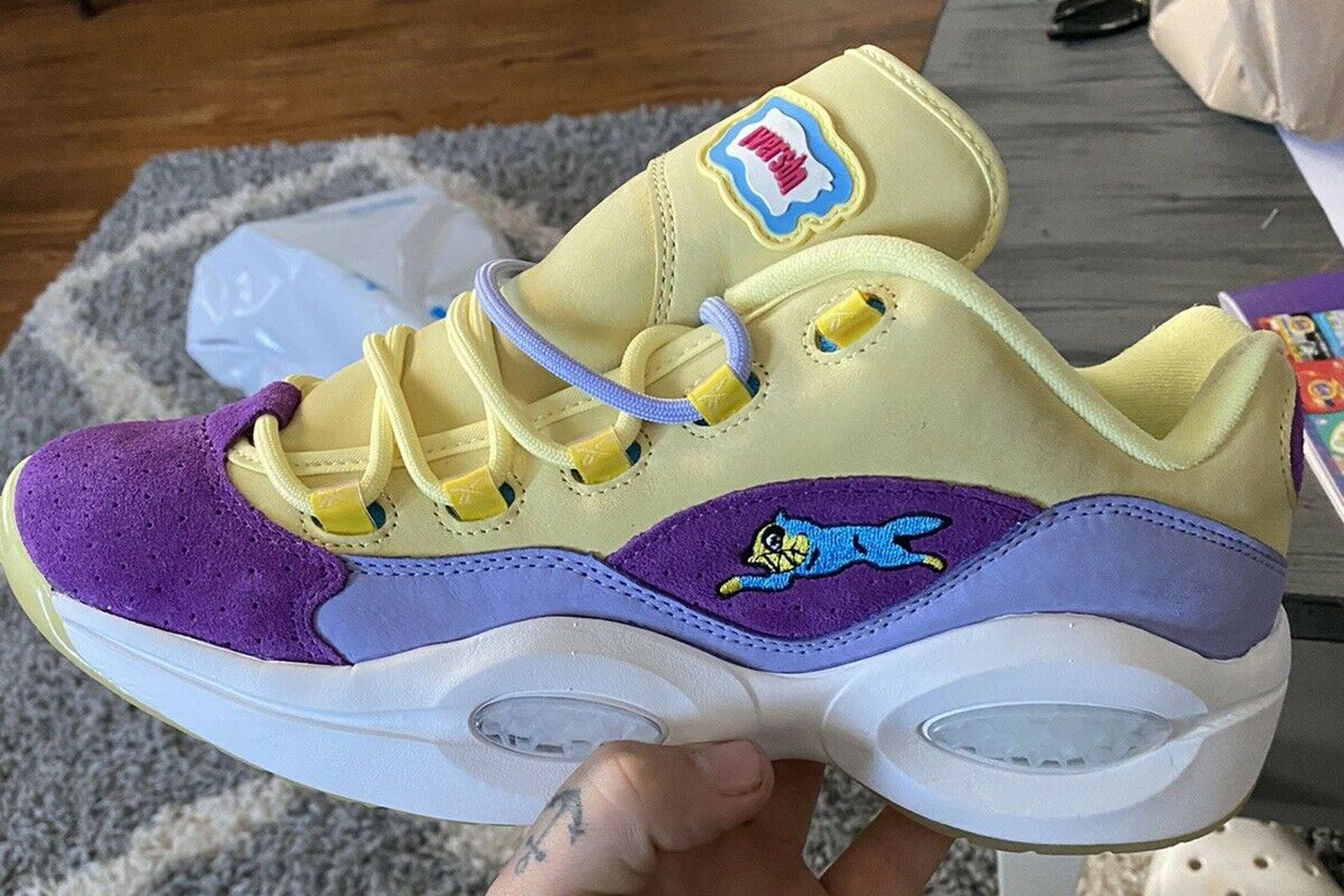 BBC ICECREAM x Reebok Question Low