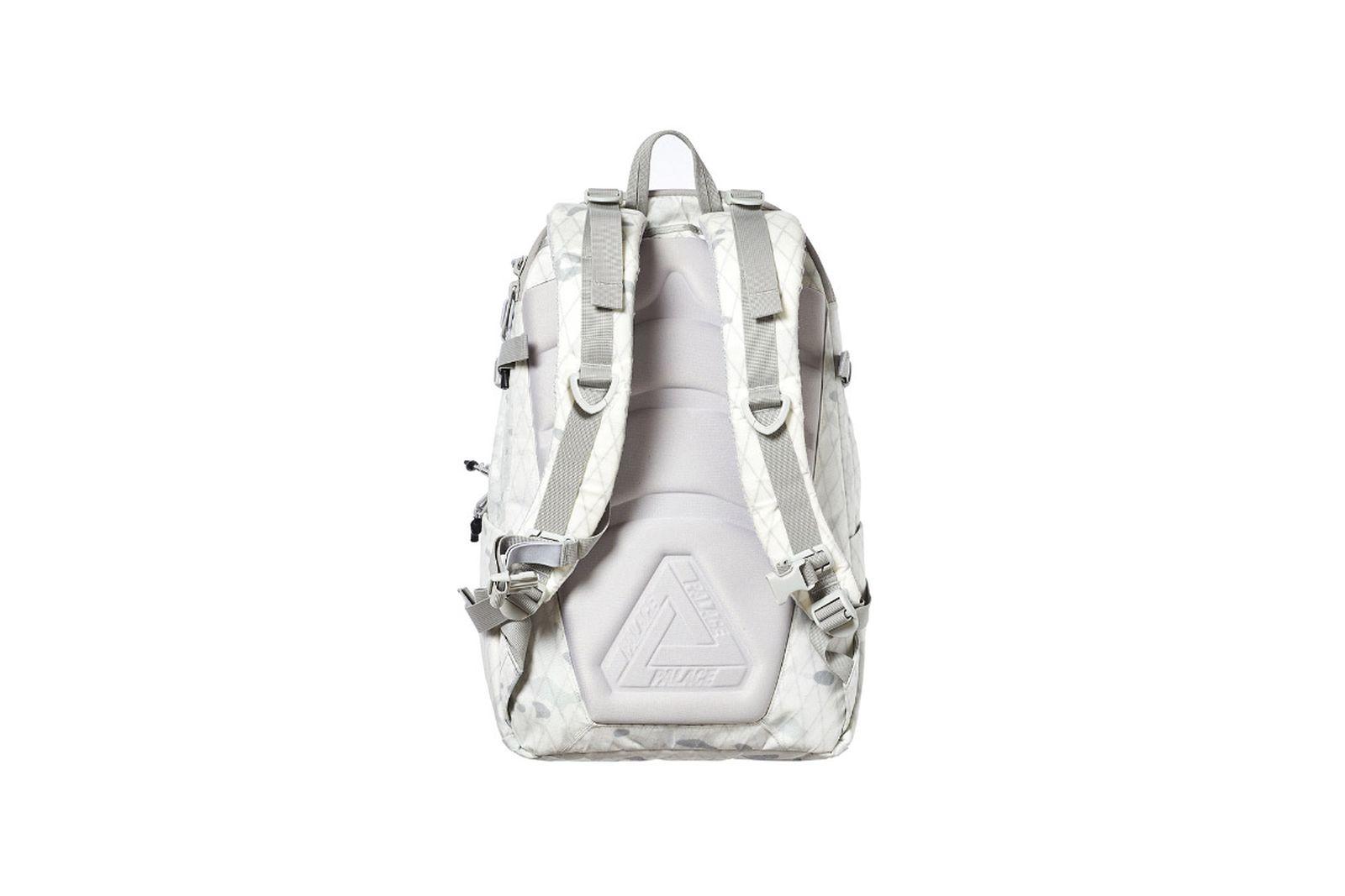 Palace 2019 Autumn Bag Back Pack tech original white camo 1970 TWEAKED
