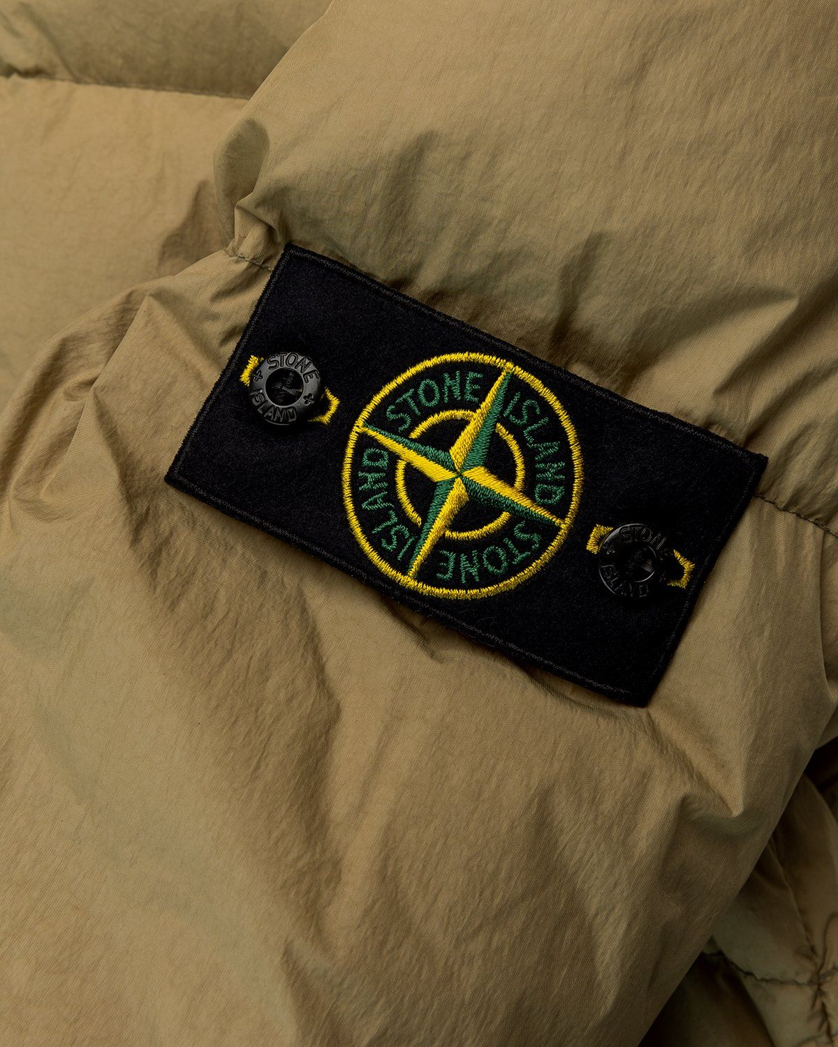 Stone Island – Real Down Jacket Natural Beige - Image 5