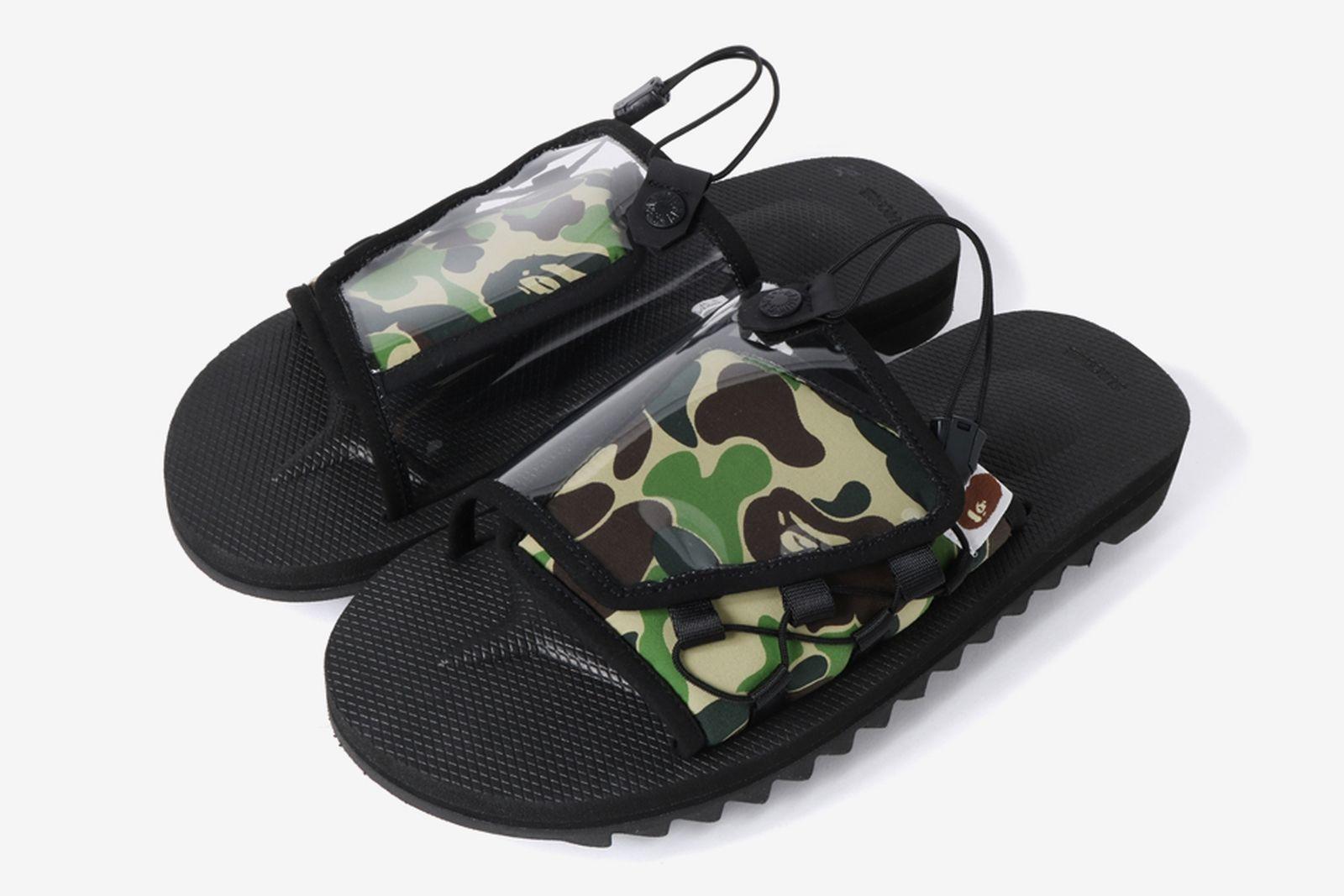bape suicoke ss19 sandals release date price A Bathing Ape