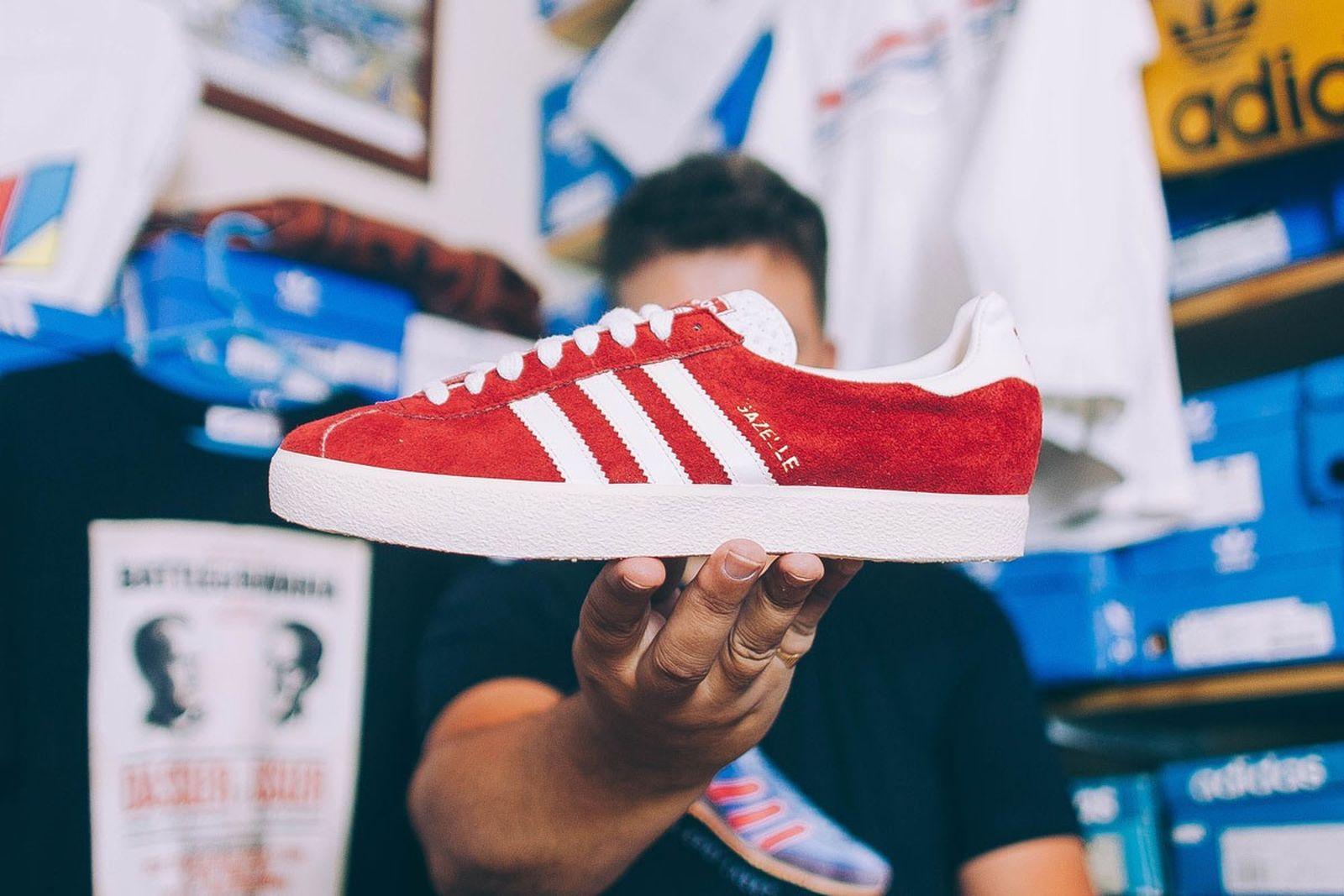 terrace footwear sneaker history dasslers finest collector interview main top Adidas diadora