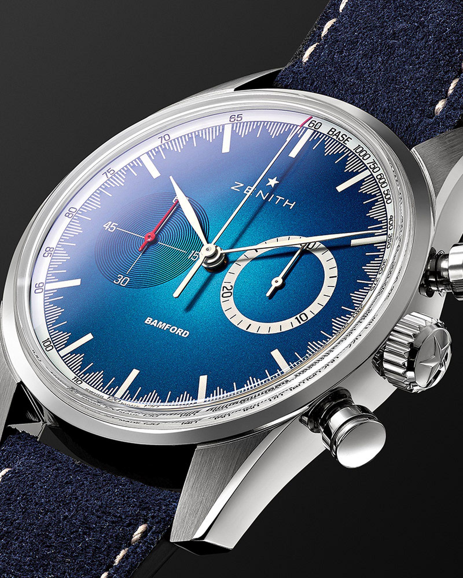 mr porter zenith bwd chronomaster el primero bamford watch department